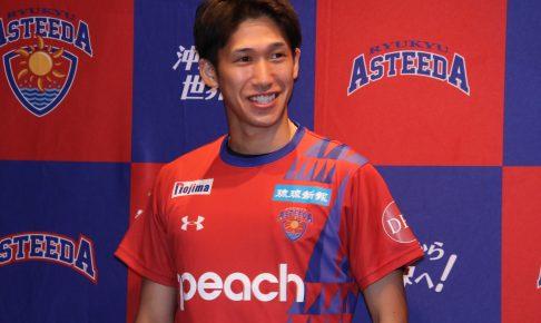 吉村真晴、琉球アスティーダ入団会見 「チームの勝利のために全力でプレー」 | 卓球専門WEBメディア「Rallys(ラリーズ)」
