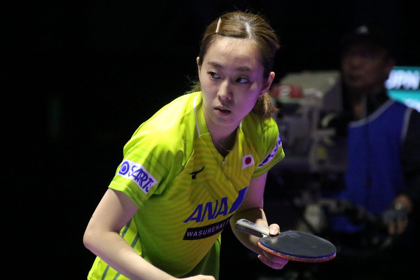石川佳純8強入り ヨーロッパのエース圧倒<卓球・ブルガリアオープン>
