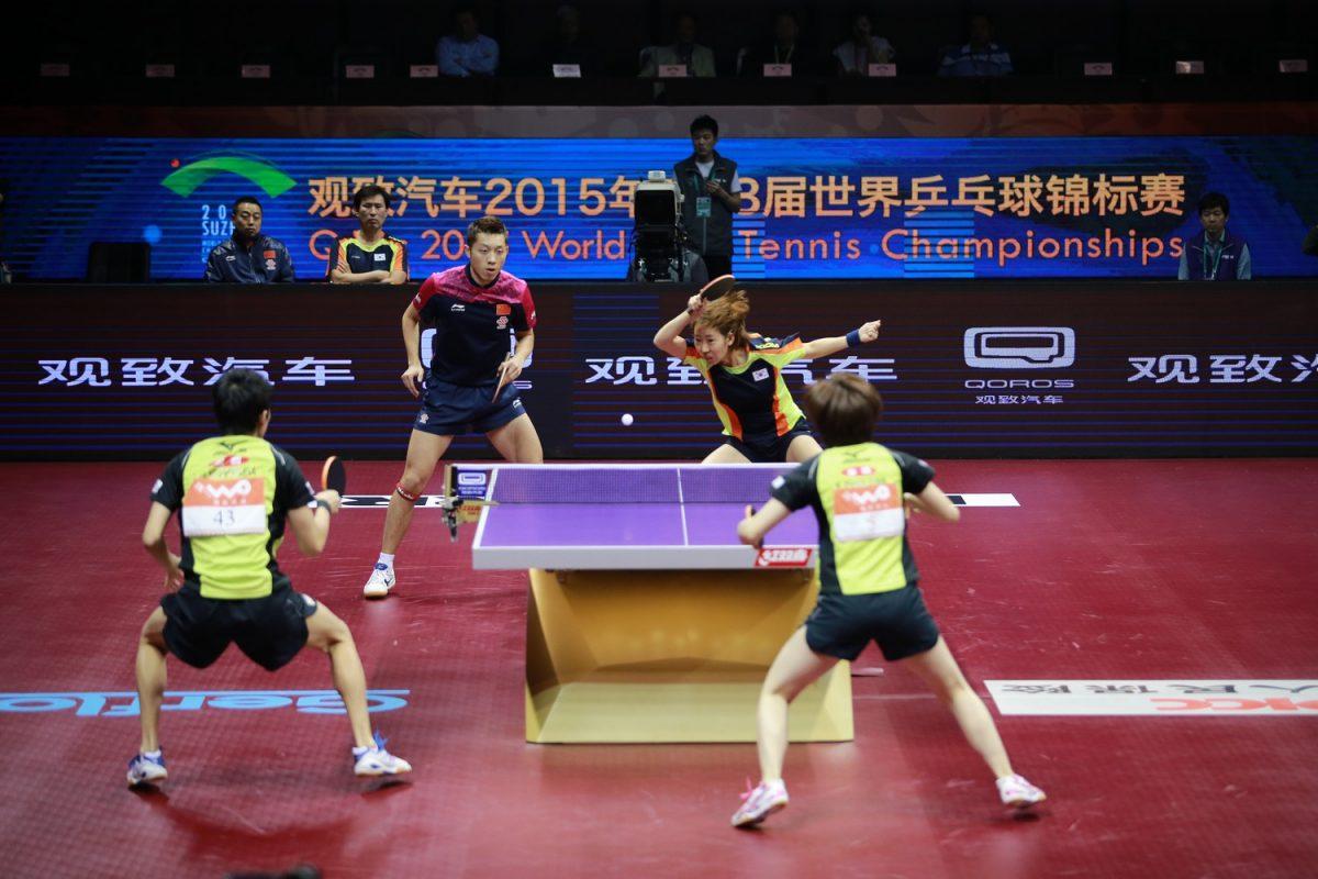 2015年世界選手権混合ダブルス決勝