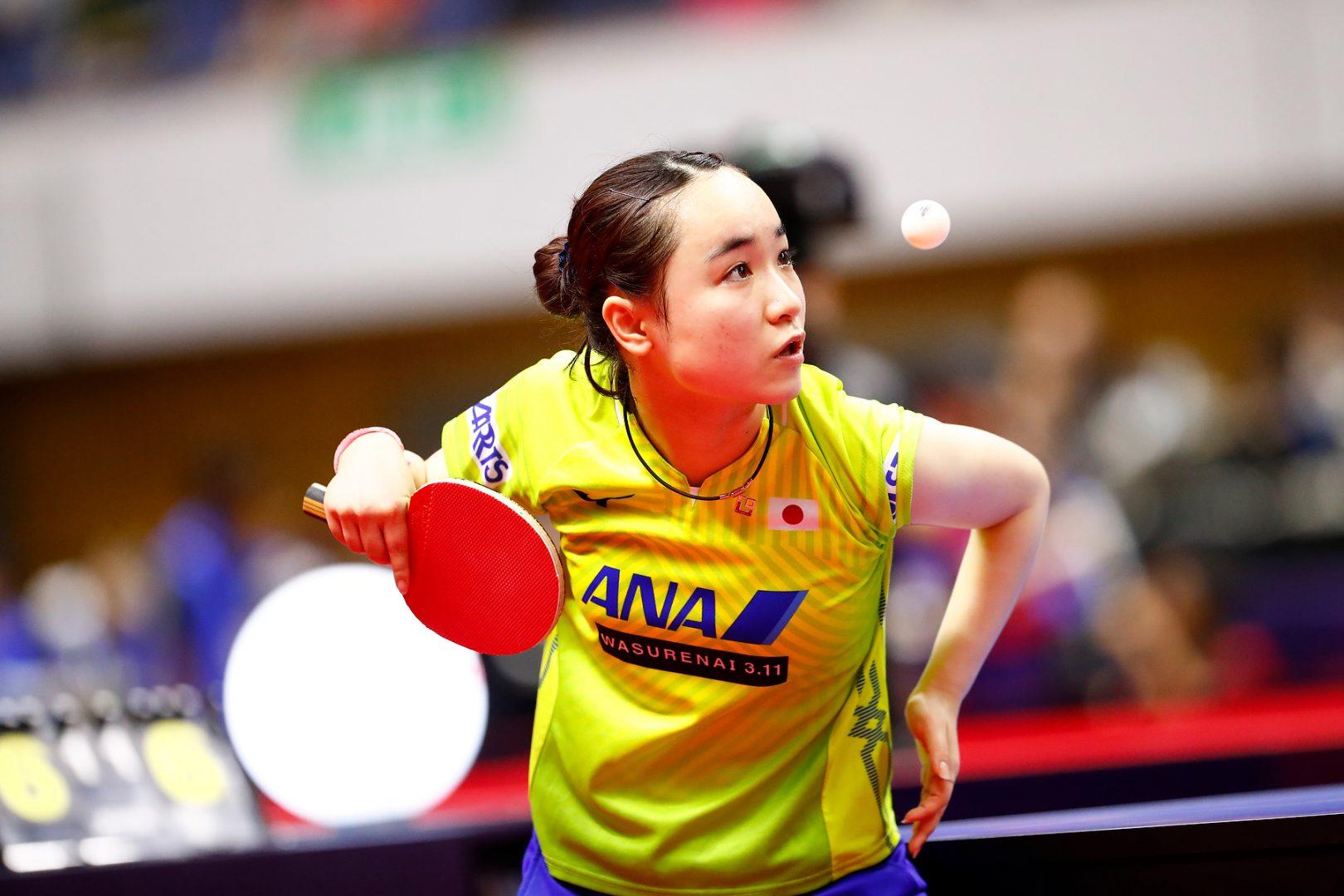 伊藤美誠、日本女子唯一のベスト4進出<卓球・ブルガリアオープン>