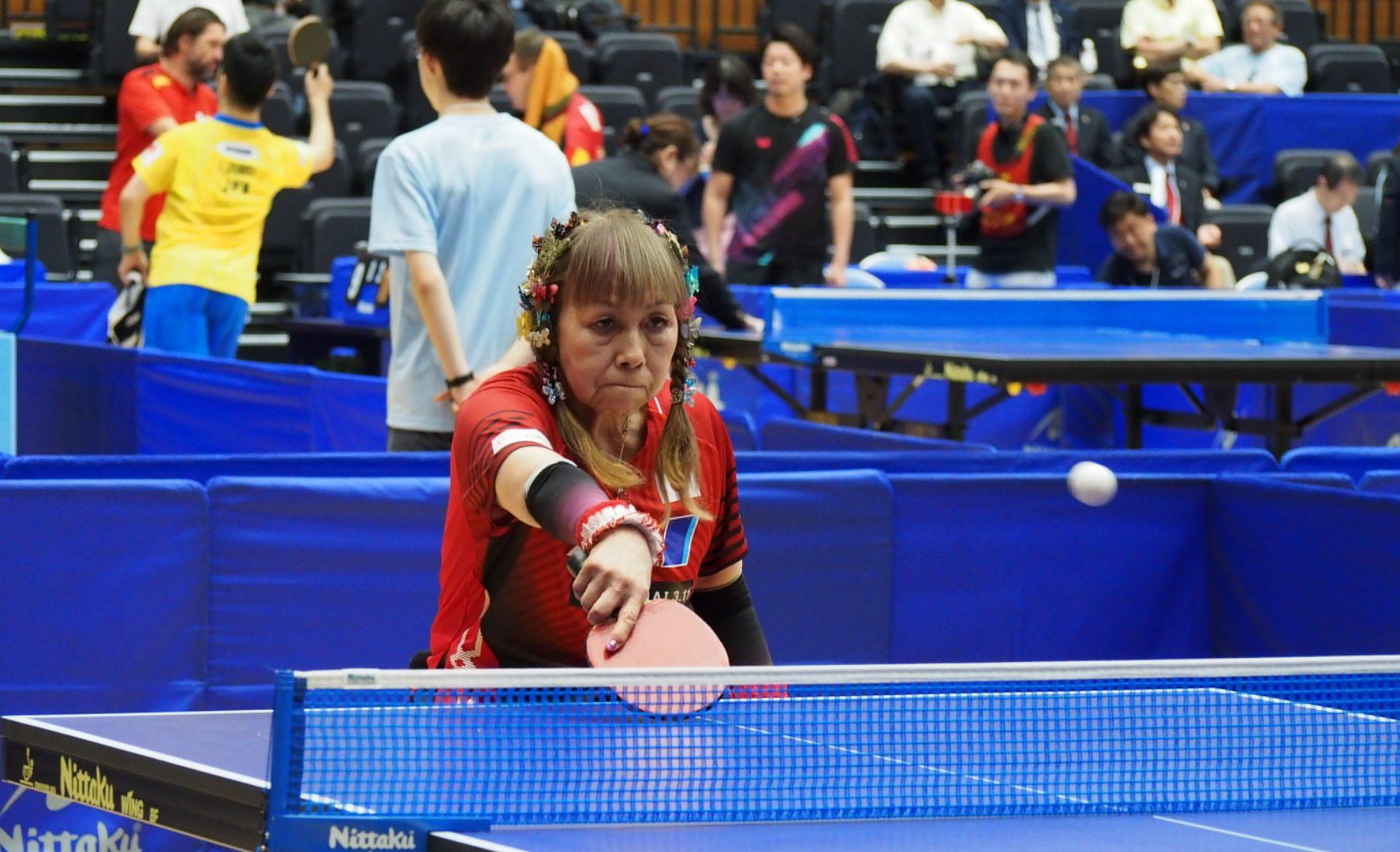 【今週の日本の卓球】別所キミヱ、年齢感じさせない準優勝 パラジャパンオープン全日程終了