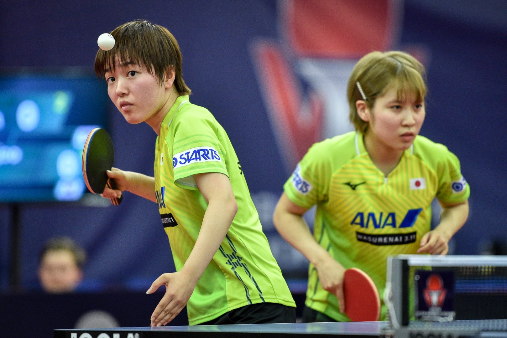 平野/芝田、フルゲームを制して4強入り<卓球・チェコオープン>