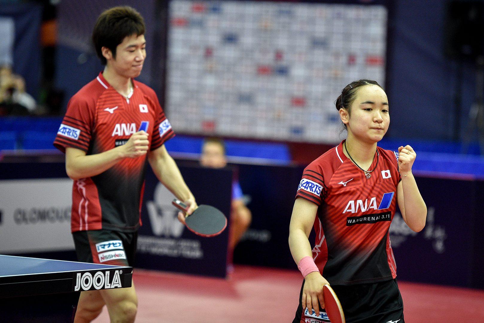 水谷/伊藤、韓国若手ペアに惜敗 2大会連続Vならず<卓球・チェコオープン>