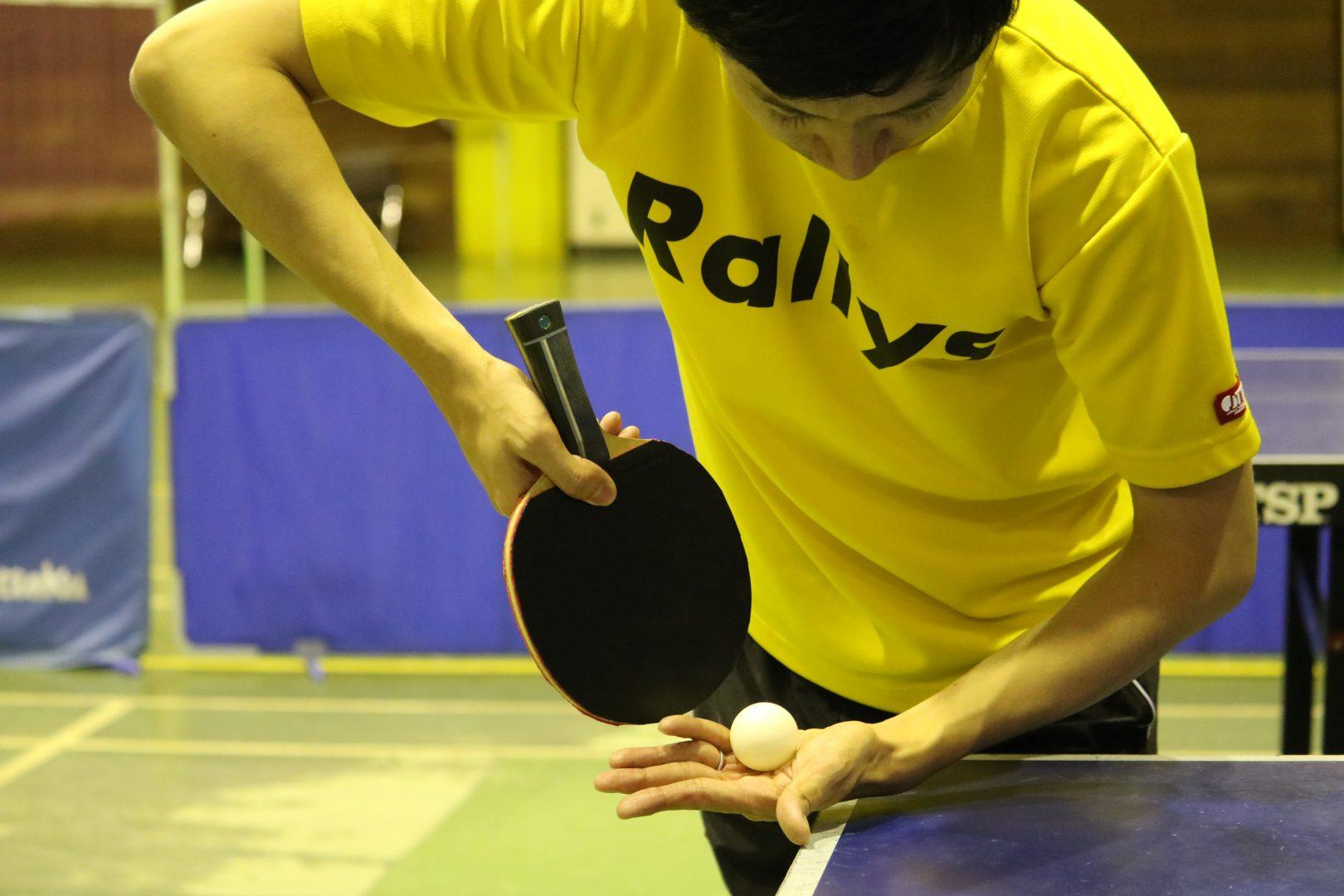 【初心者必見】伸びる上回転を出す為の練習方法|卓球基本技術レッスン