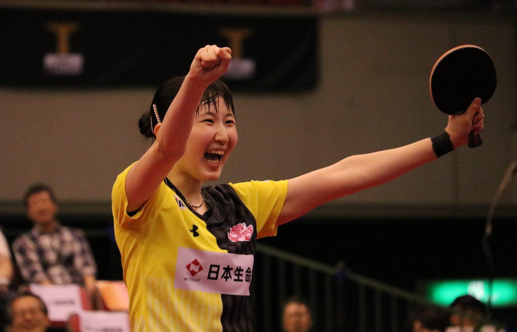 早田らの活躍で日本生命が勝利 シングルス3本で決めた<卓球・Tリーグ結果速報>