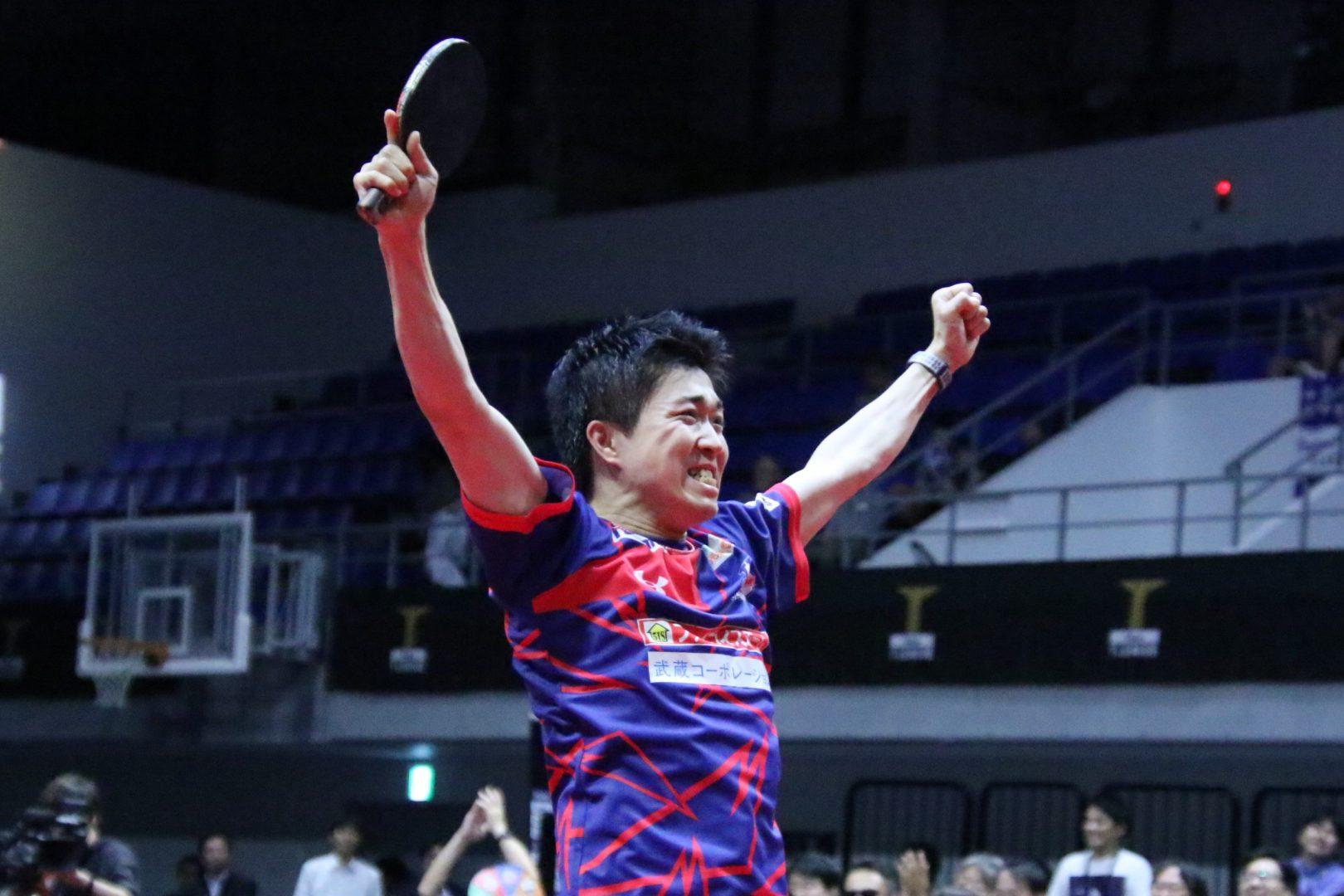 【速報・Tリーグ】神巧也、フルスイングで大激戦制す T.T彩たまが琉球に勝利