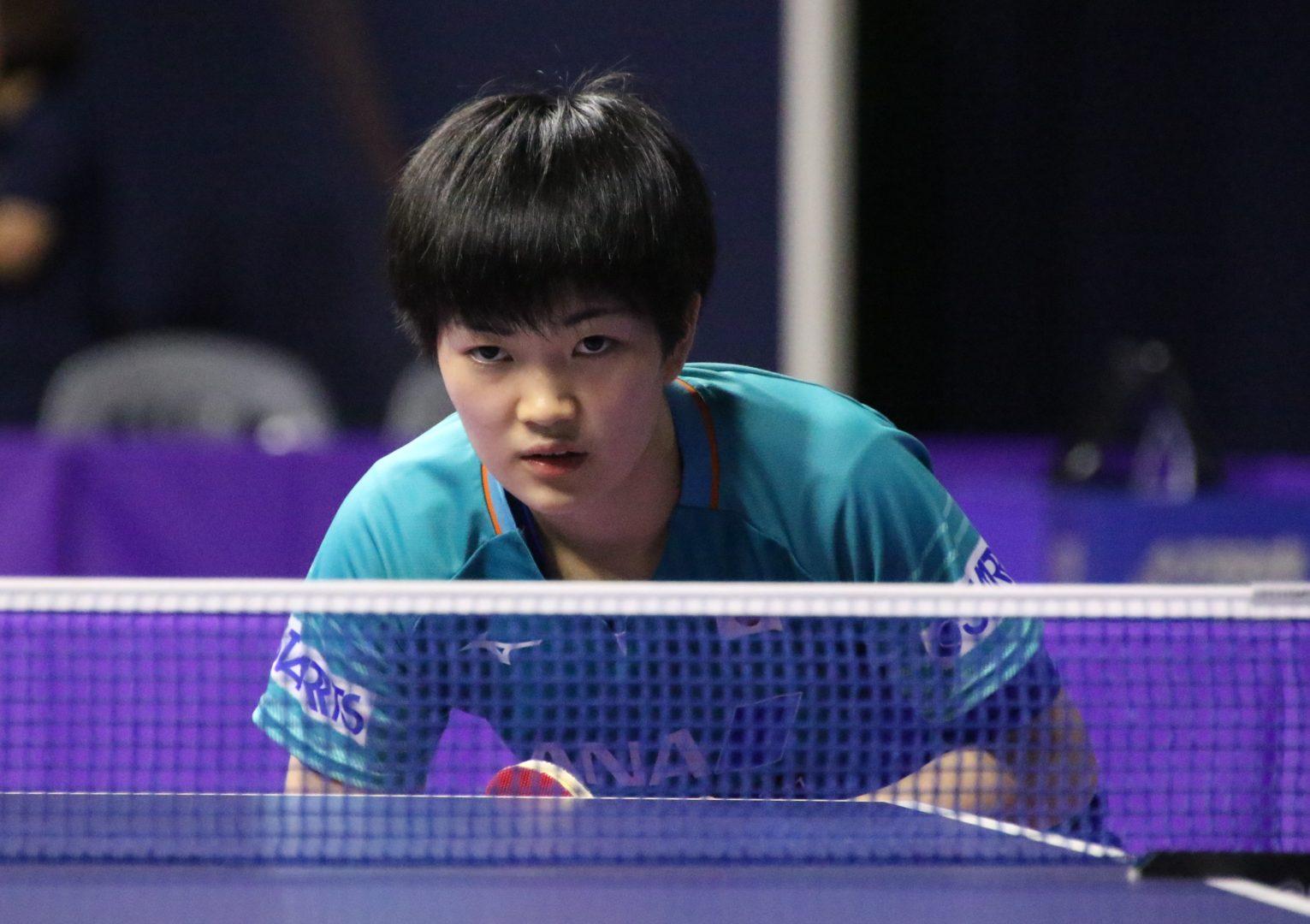 若き日本代表、アジアの強敵に挑む<アジアジュニア&カデット卓球選手権・個人戦>