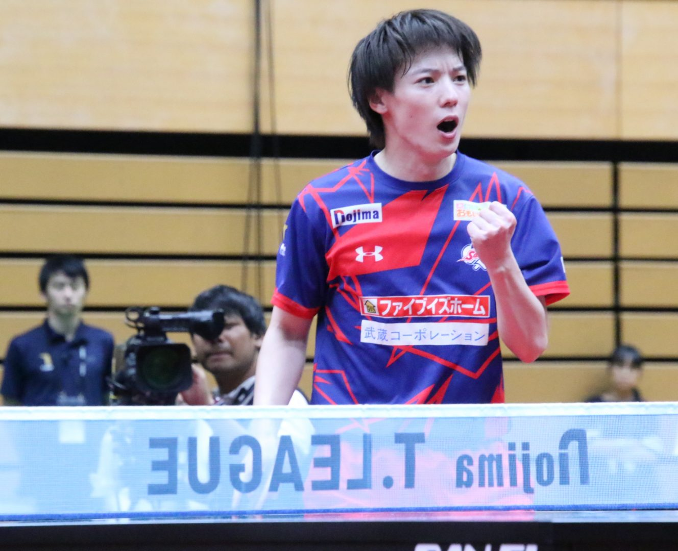 T.T彩たま、初の首位浮上 ホームで2連勝<卓球・Tリーグ結果速報>