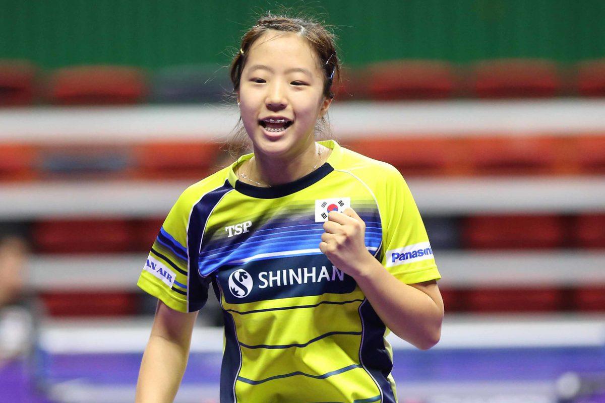 15歳の天才卓球少女・申裕斌 韓国の救世主となるか