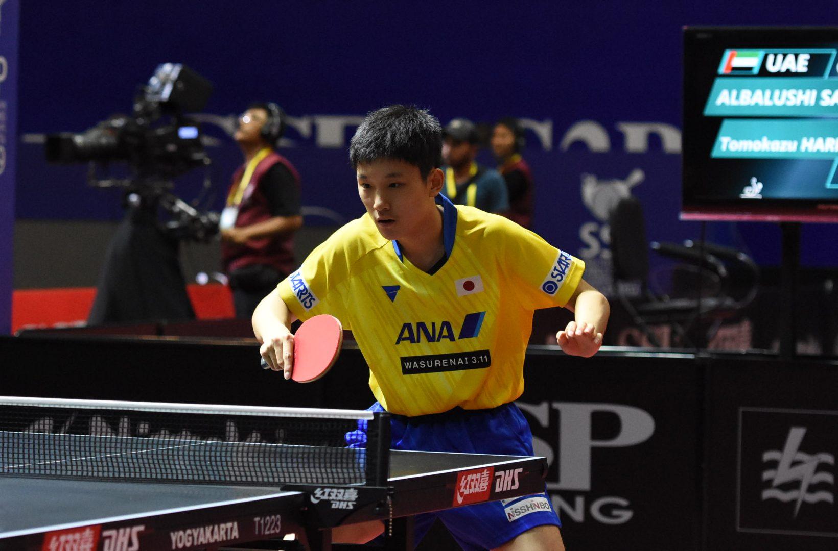 張本智和、勢い止まらず4回戦進出<アジア卓球選手権・男子単>