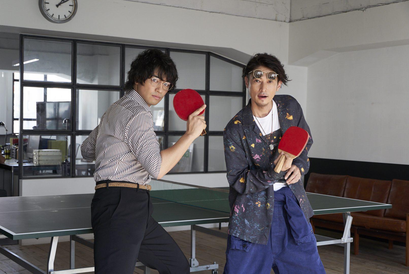 映画「ピンポン」以来17年ぶり 窪塚洋介、Indeed新CMで卓球姿披露【動画あり】