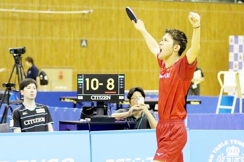 後期日本卓球リーグ開幕 東京アートの全勝街道いまだ途切れず