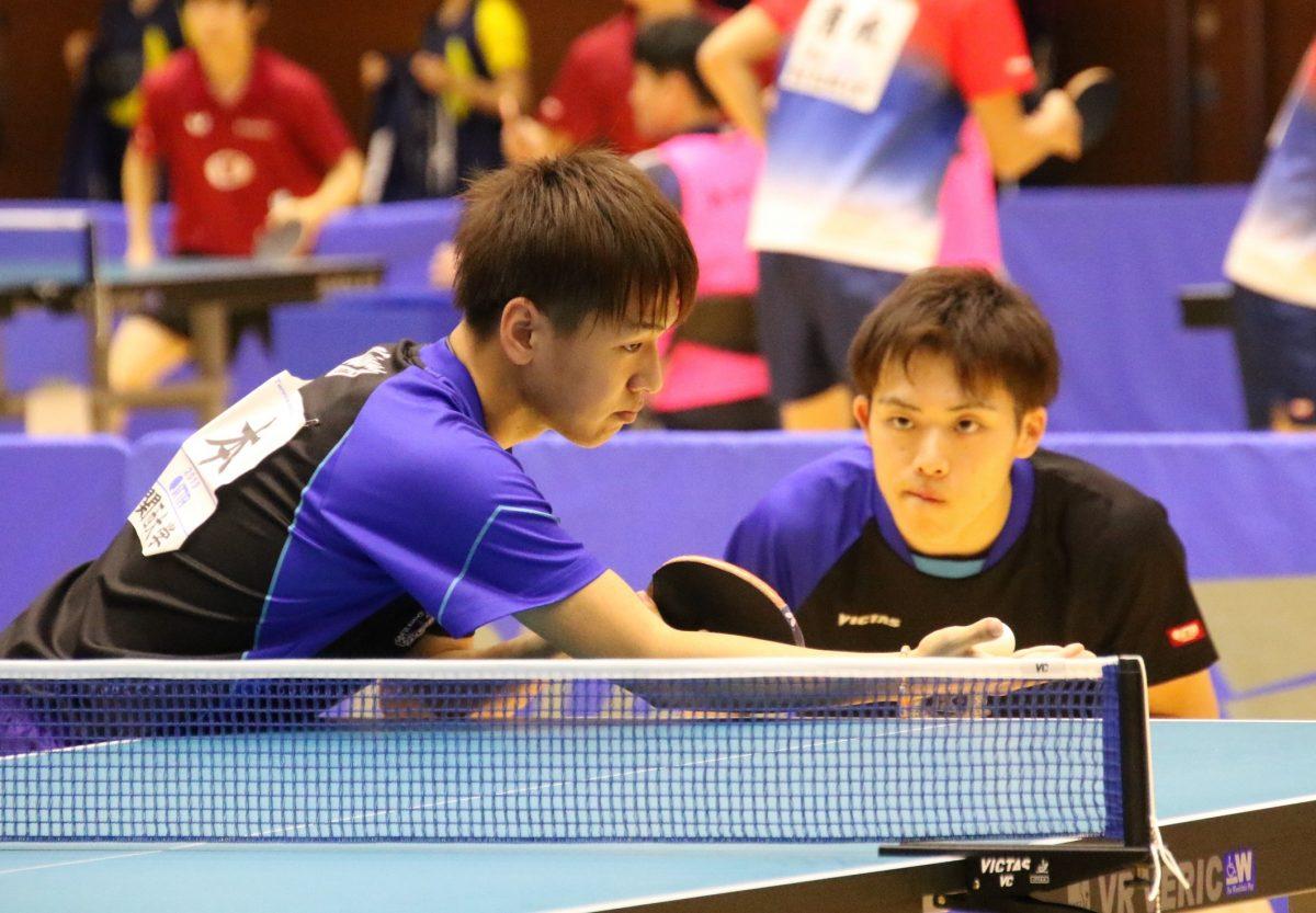 福本卓朗(写真左)、坂根翔大(写真右)
