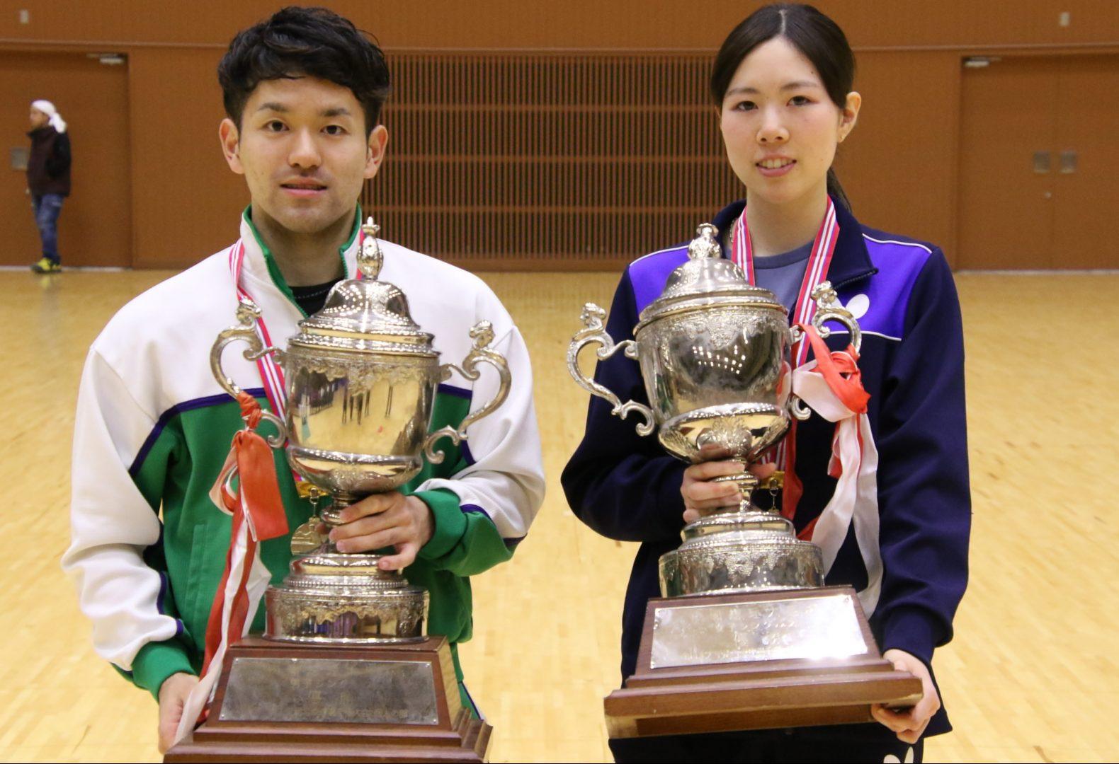 【今週の日本の卓球】大学生日本一決定戦 専大・及川、中大・森田が優勝 全日学 全日程終了