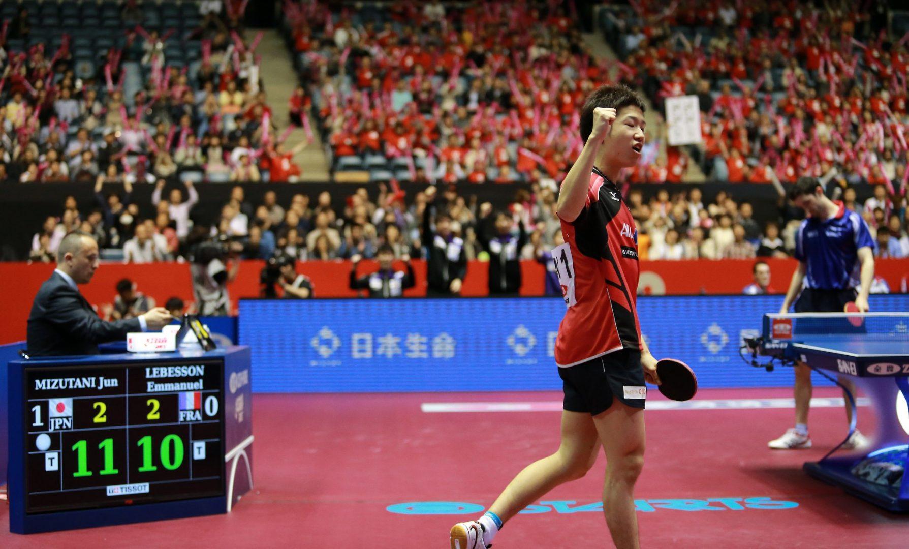 自国開催が有利な理由 卓球界はチームワールドカップ東京大会控える