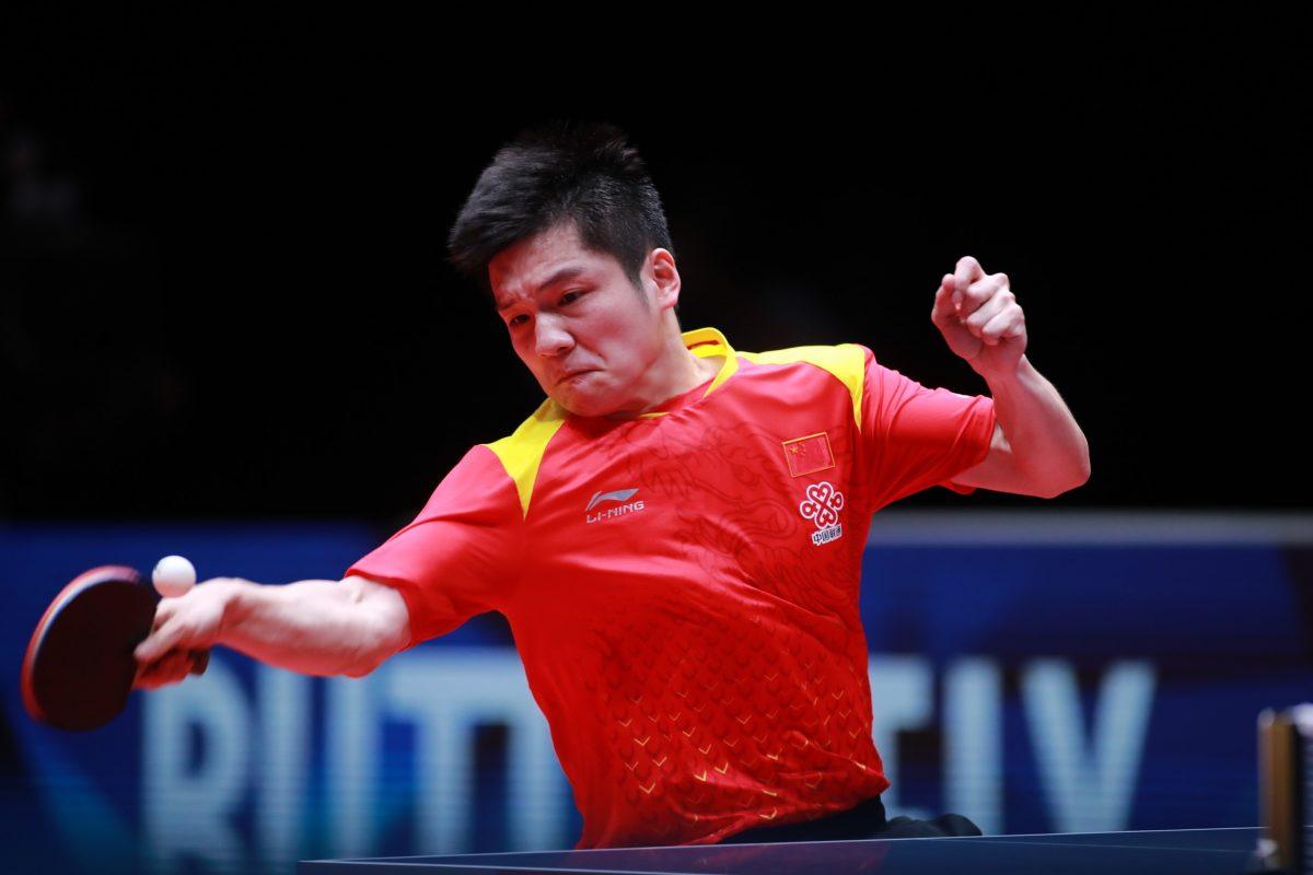 世界卓球2018の樊振東(中国)