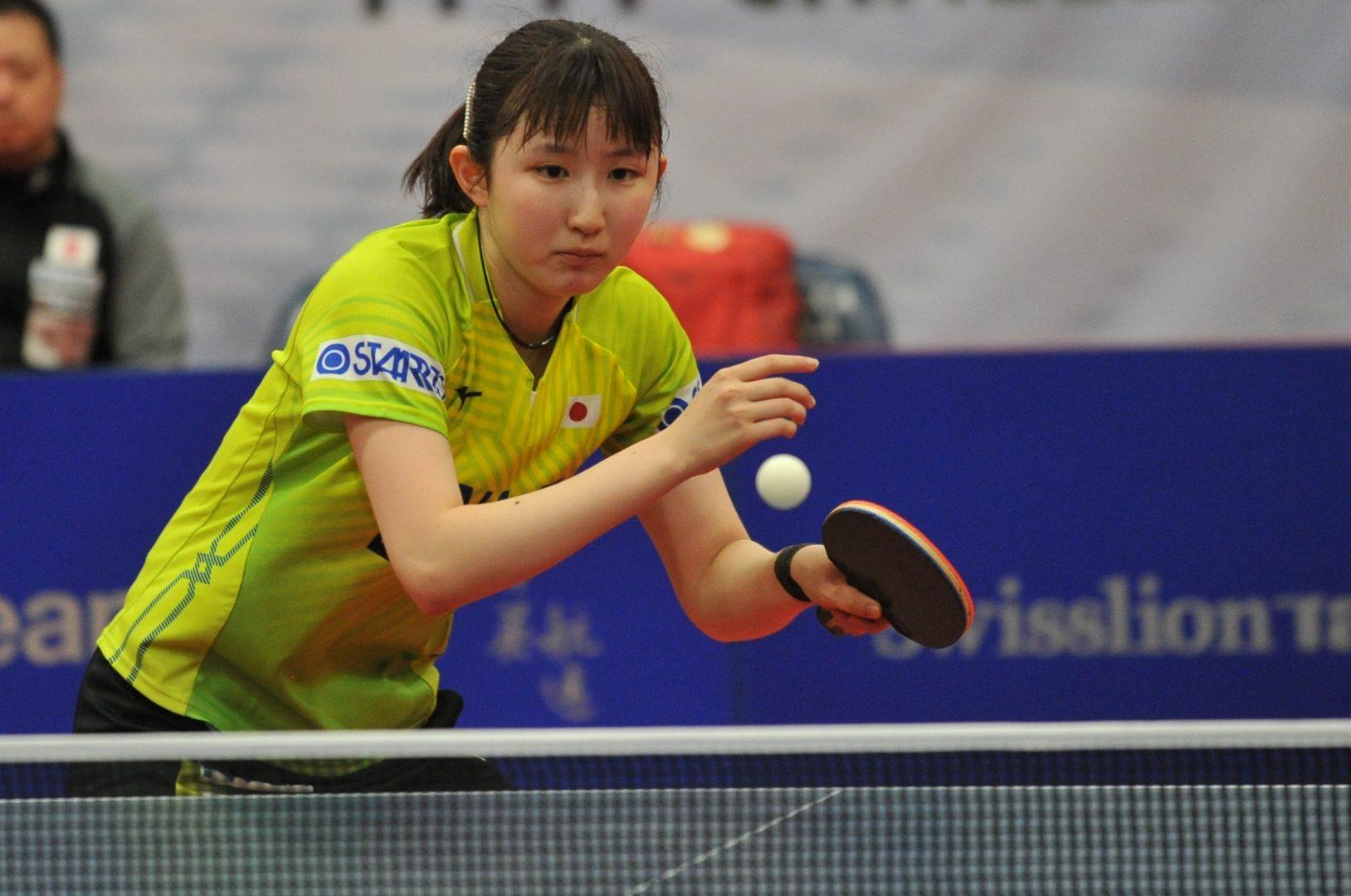 早田ひな、中国選手追い詰めるも惜敗<卓球・ドイツオープン>