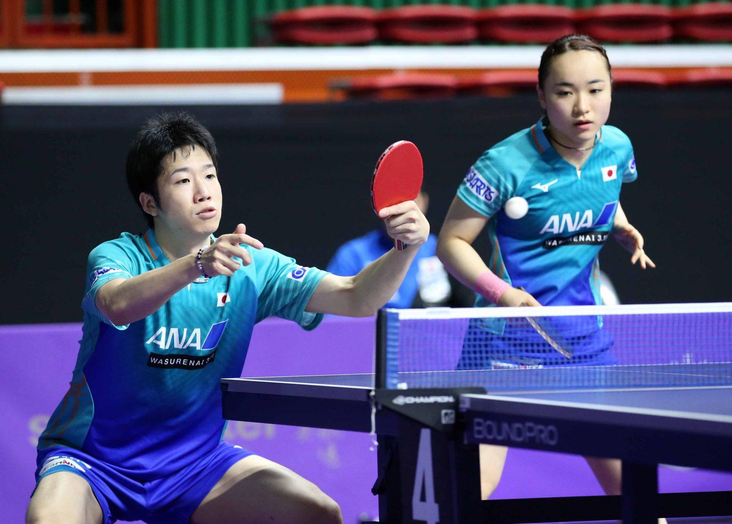 水谷/伊藤、中国ペア撃破 優勝まであと1つ<卓球・スウェーデンオープン>