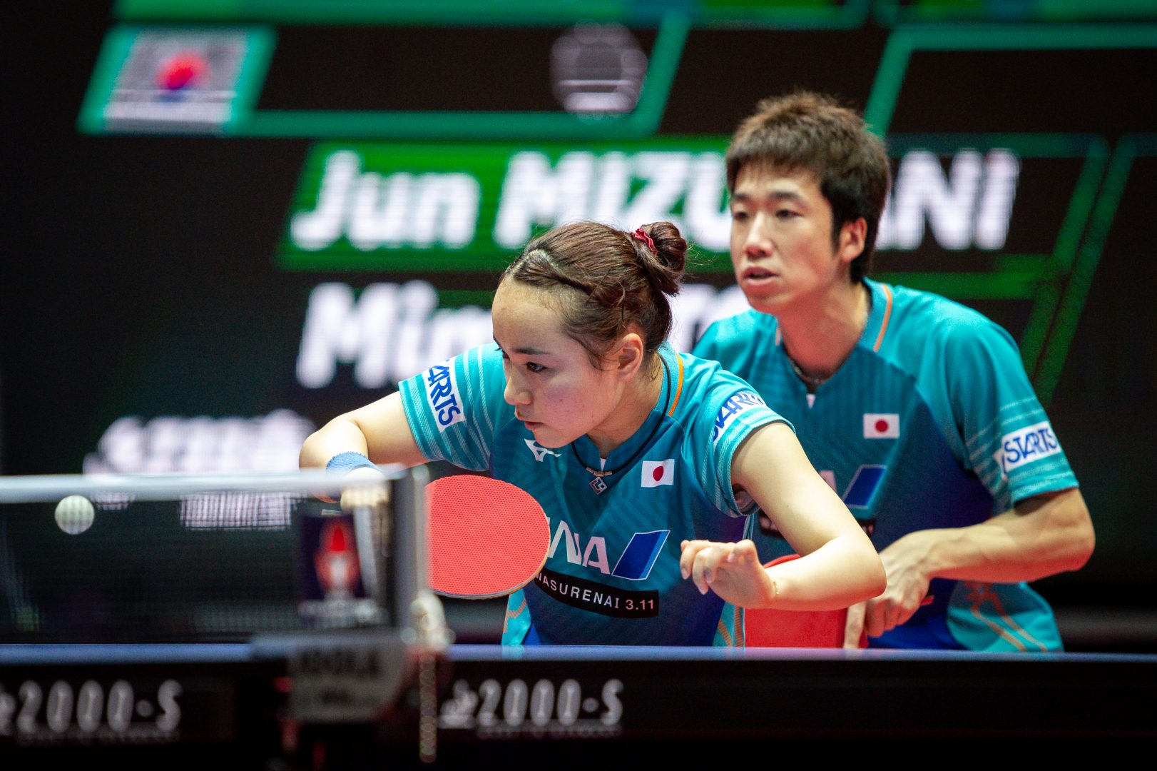 水谷/伊藤、15分で完勝 準決勝へ<卓球・スウェーデンオープン 混合複>