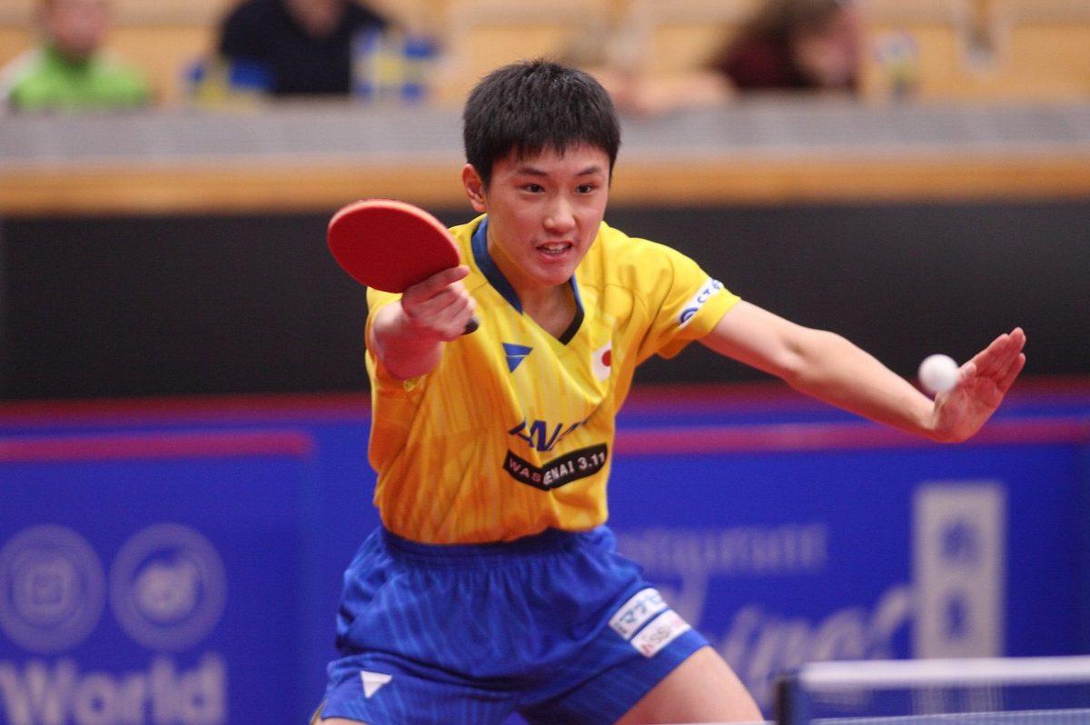16歳・張本智和、中国期待の19歳に敗戦<卓球・スウェーデンオープン>
