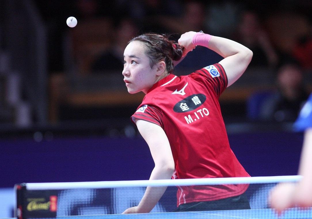 伊藤美誠、ITTFベストラリー1,2フィニッシュの快挙 19歳の門出祝う