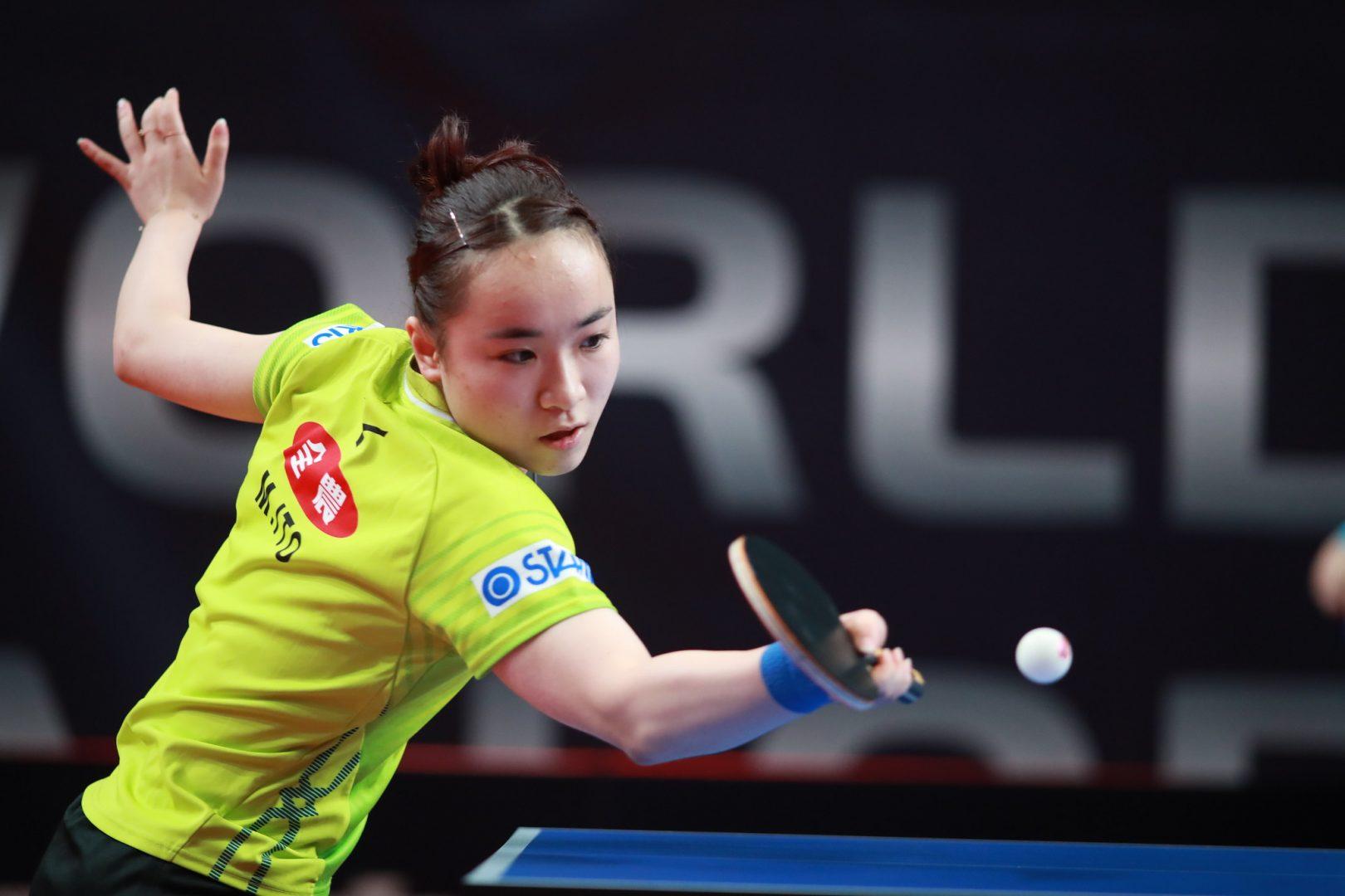 伊藤美誠、中国越えで8強入り<卓球・ドイツオープン>