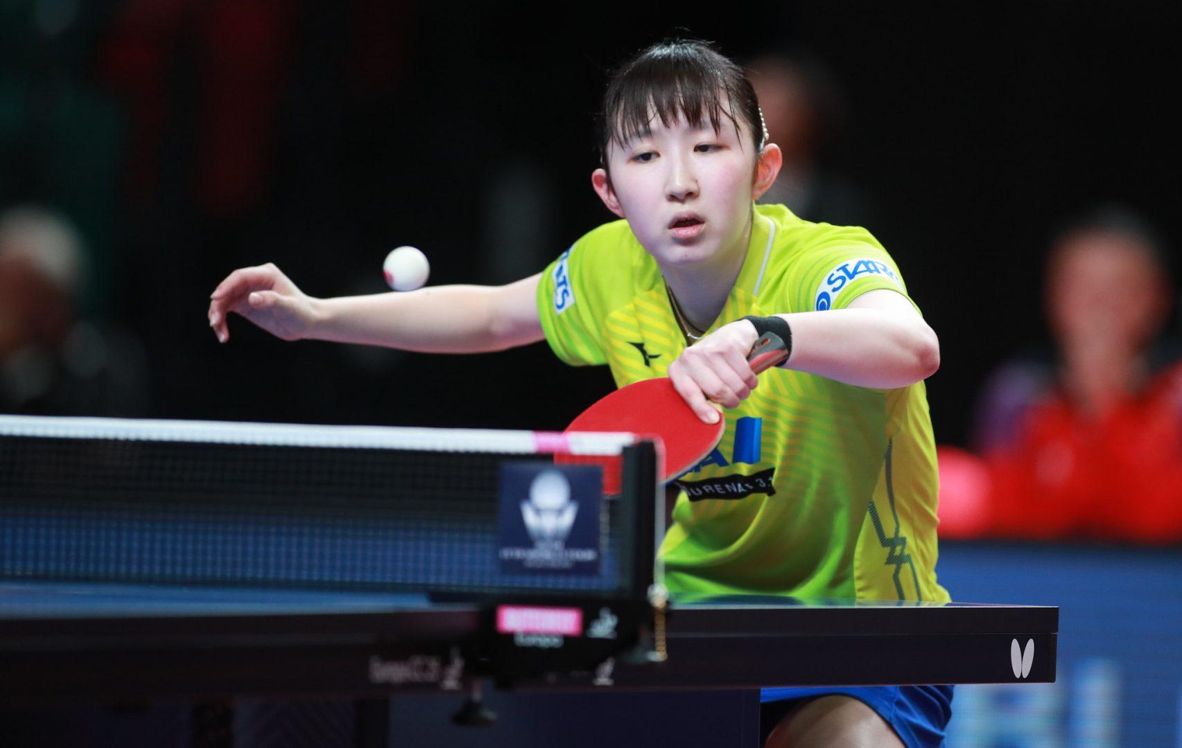 男女シングルス予選終了 早田ひな、1回戦に臨む<卓球・ポーランドオープン>