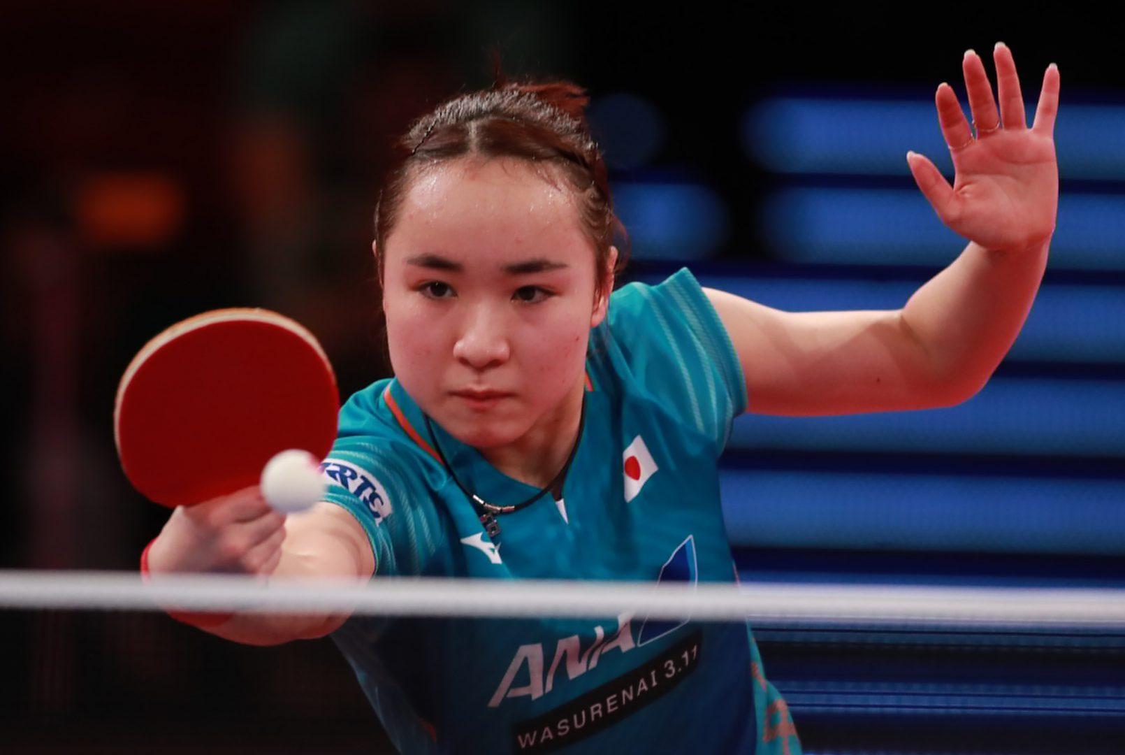 【今週の日本の卓球】伊藤美誠、ワールドツアー2大会連続準優勝 ドイツオープン全日程終了
