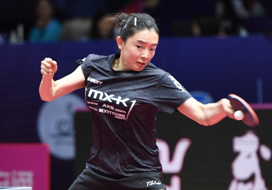 卓球・女子ワールドカップ開幕 Tリーガー田志希、初戦快勝