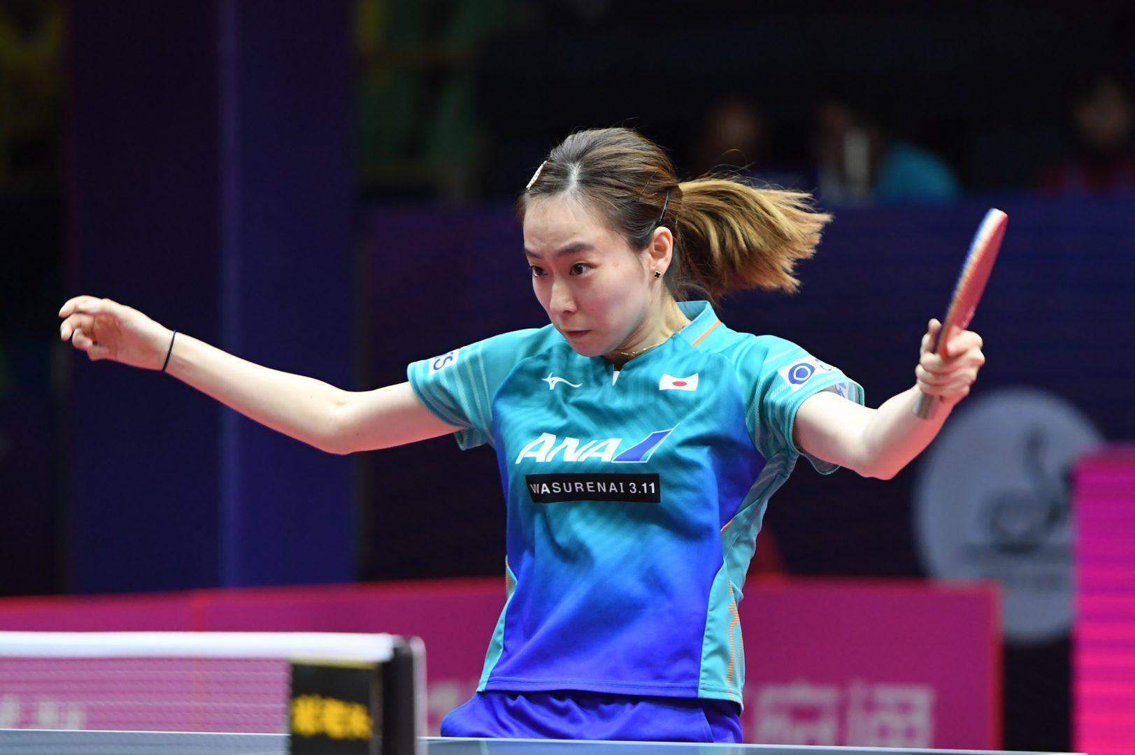 石川佳純、フルゲーム制せずベスト8 ロンドン銅メダリストに惜敗<卓球・2019女子ワールドカップ>