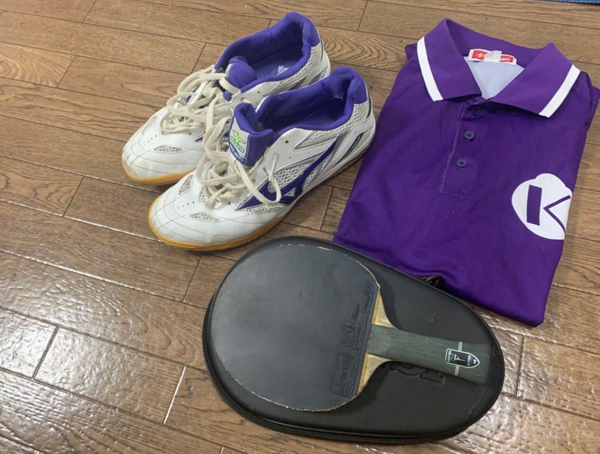 二木啓太(駒澤大学)の用具紹介|俺の卓球ギア#43