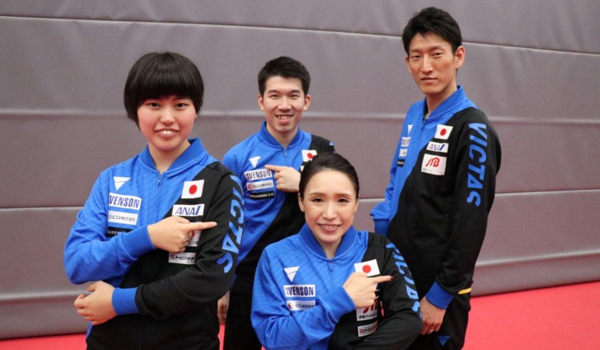 パラ卓球日本代表の公式ウェアに『VICTAS』が決定