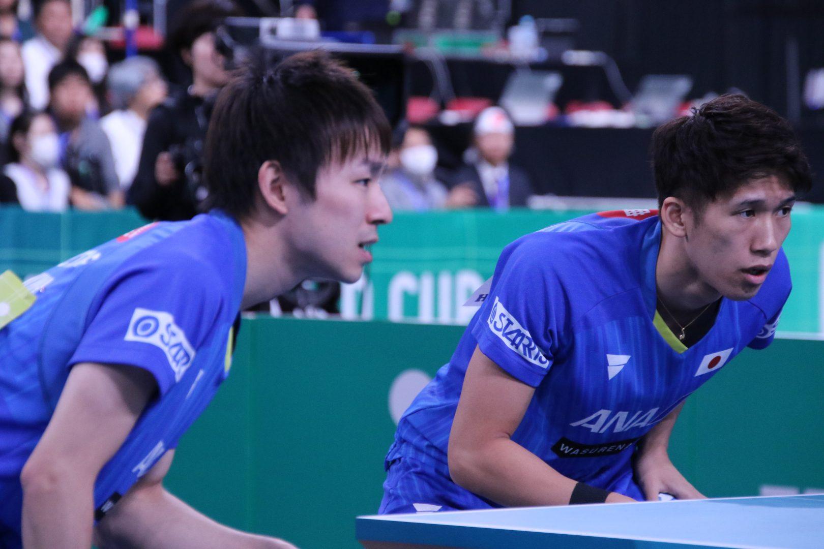 日本男子、準々決勝で強豪・ドイツと対戦 オーダーも発表<JA全農 卓球チームワールドカップ>