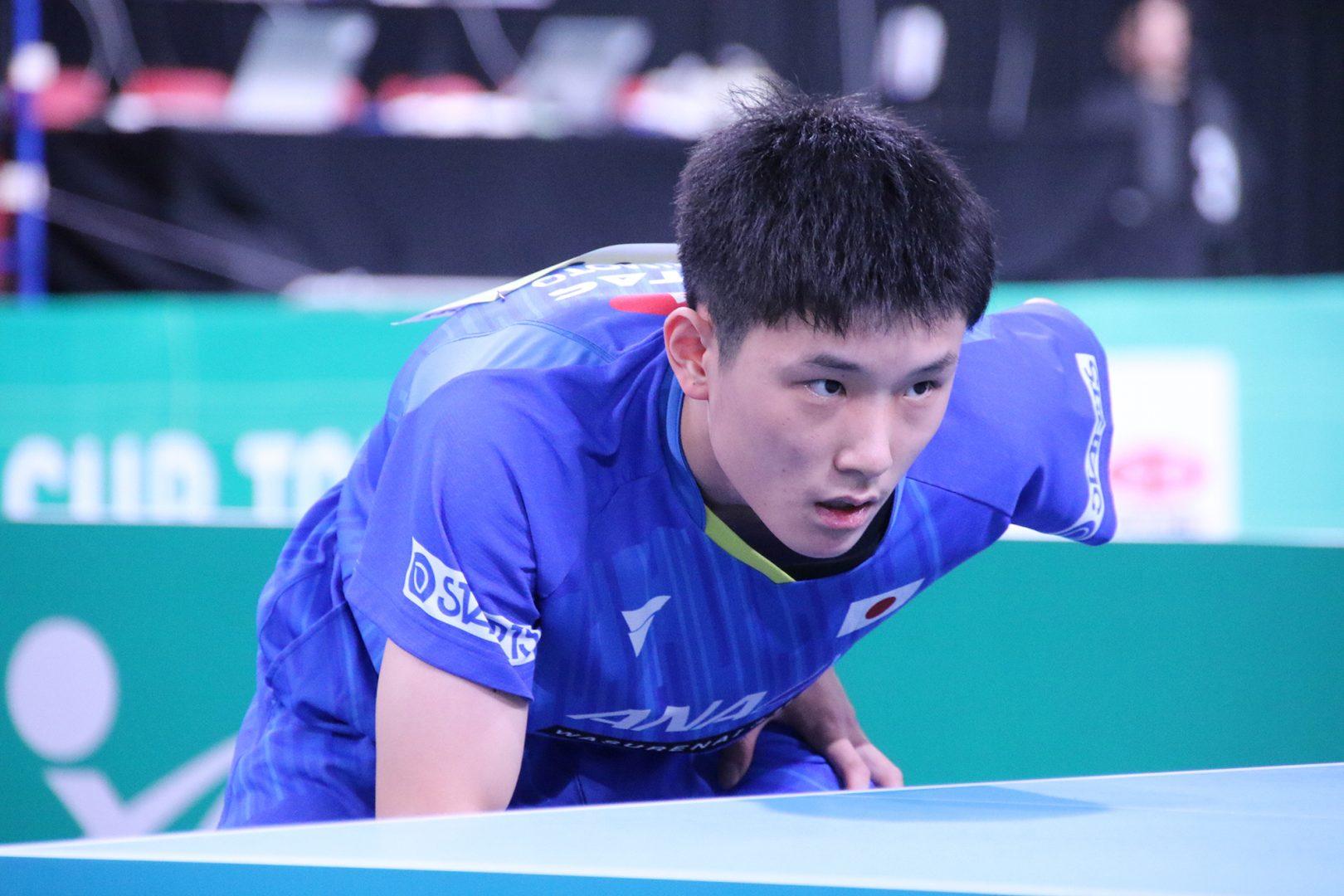 日本男子、苦杯 張本「まだ団体戦の戦い方ができてない」<JA全農 卓球チームワールドカップ>
