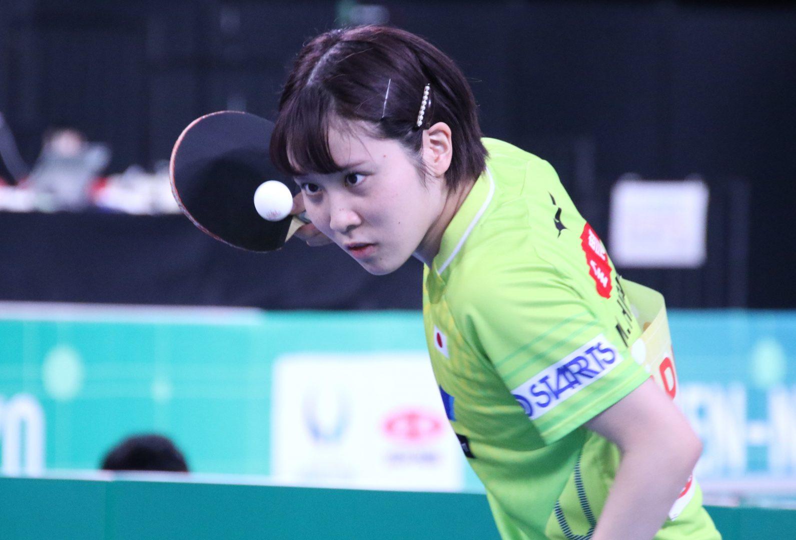日本女子、準々決勝でヨーロッパ女王と対戦<JA全農 卓球チームワールドカップ>