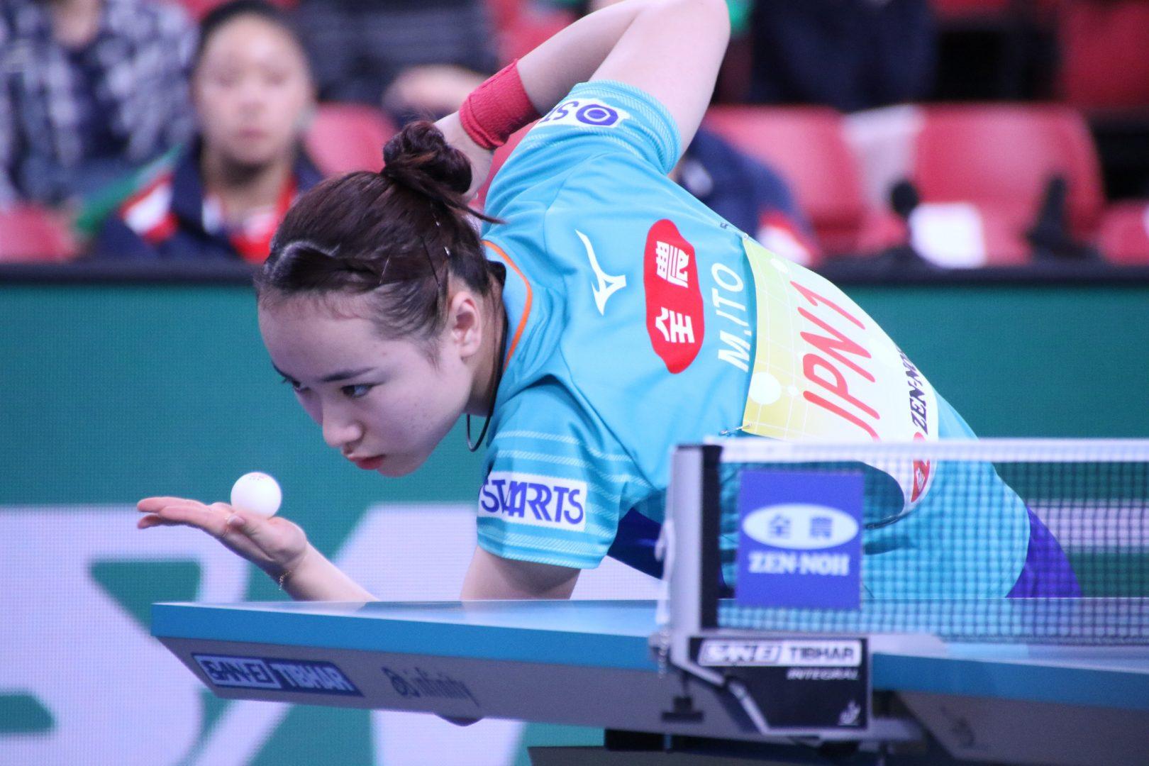 東京五輪前哨戦開幕 日本男女ともに準々決勝へ<JA全農 卓球チームワールドカップ>