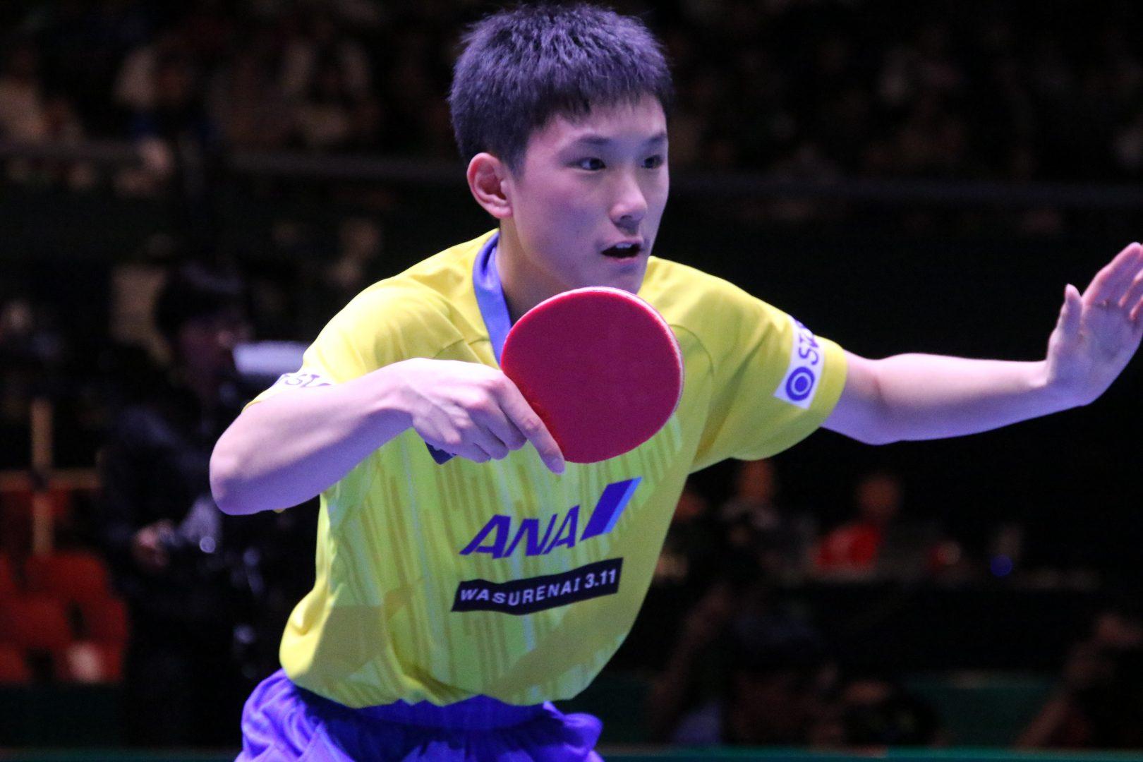 【速報】中国との決戦 丹羽・吉村ペアと張本が敗れ中国がリード<JA全農 卓球チームワールドカップ>