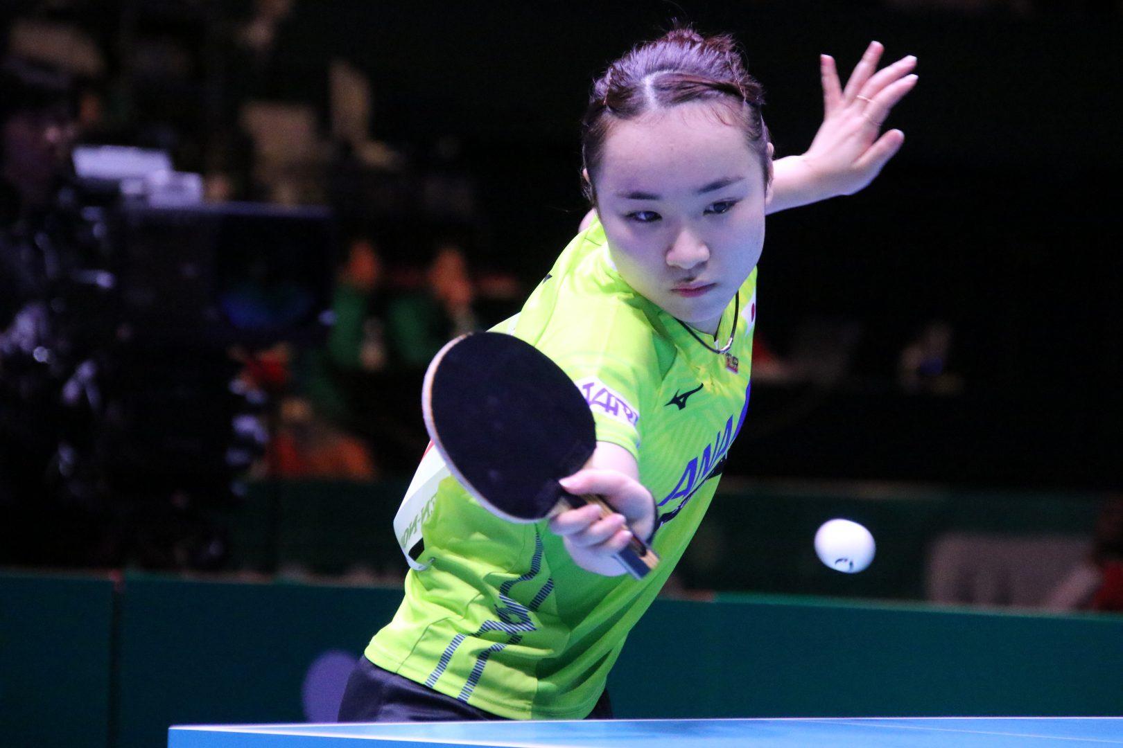 【速報】伊藤美誠、激戦制す 日韓戦は1-1のイーブンに<JA全農 卓球チームワールドカップ>