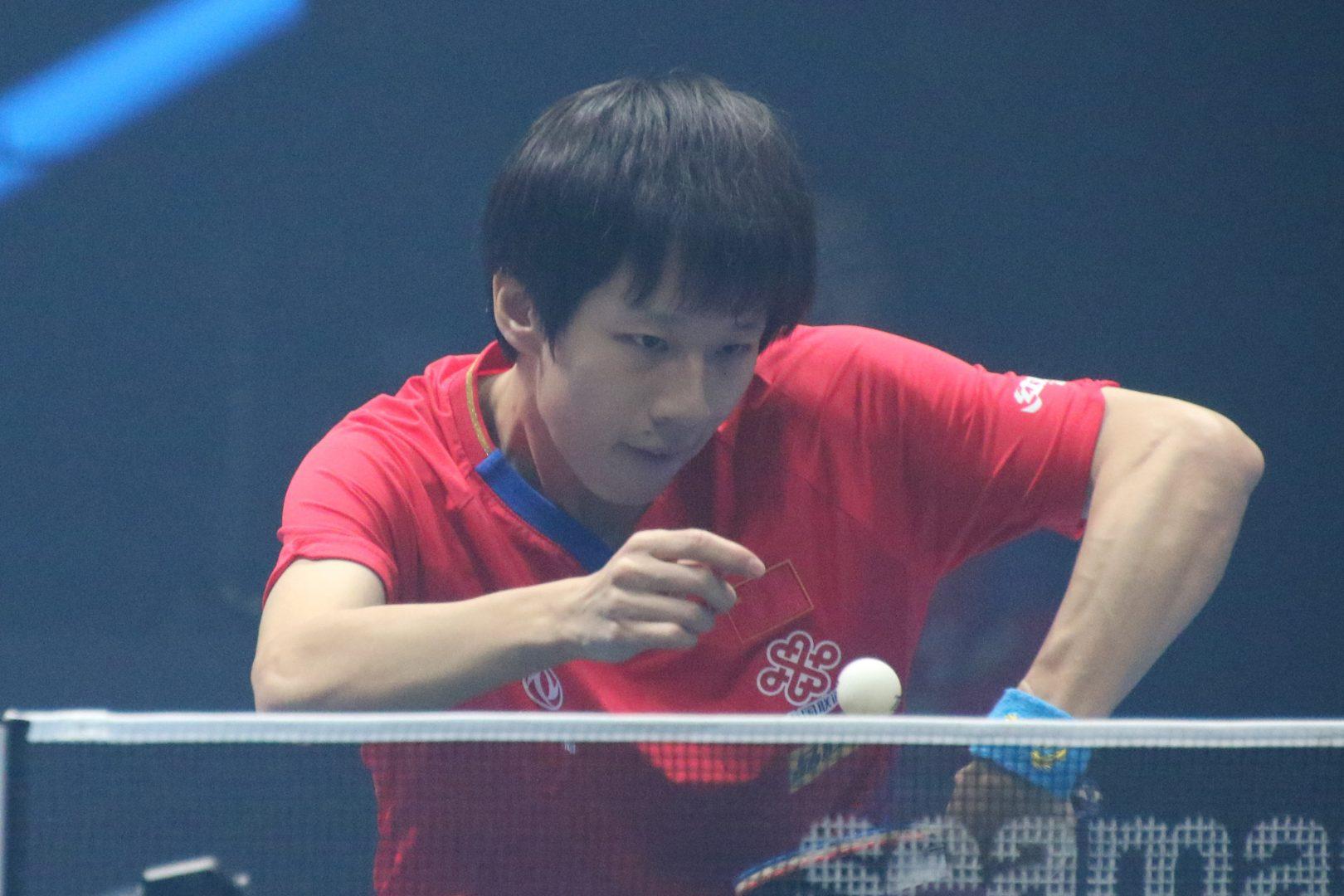 中国・林高遠、世界卓球銀メダリストに白星<T2ダイヤモンド>