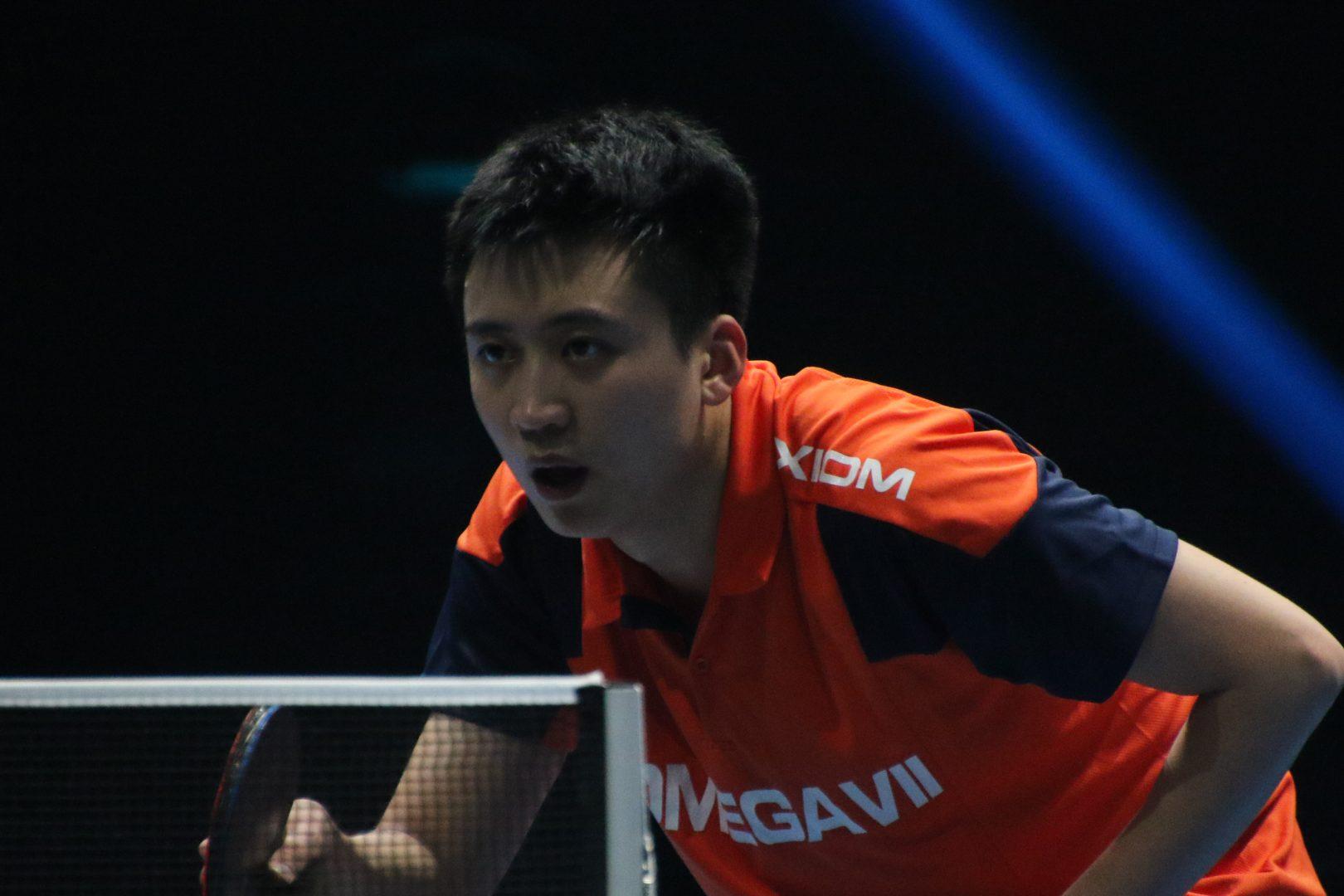 韓国・鄭栄植、ベスト8進出 中国選手との死闘制す<卓球・T2ダイヤモンド>