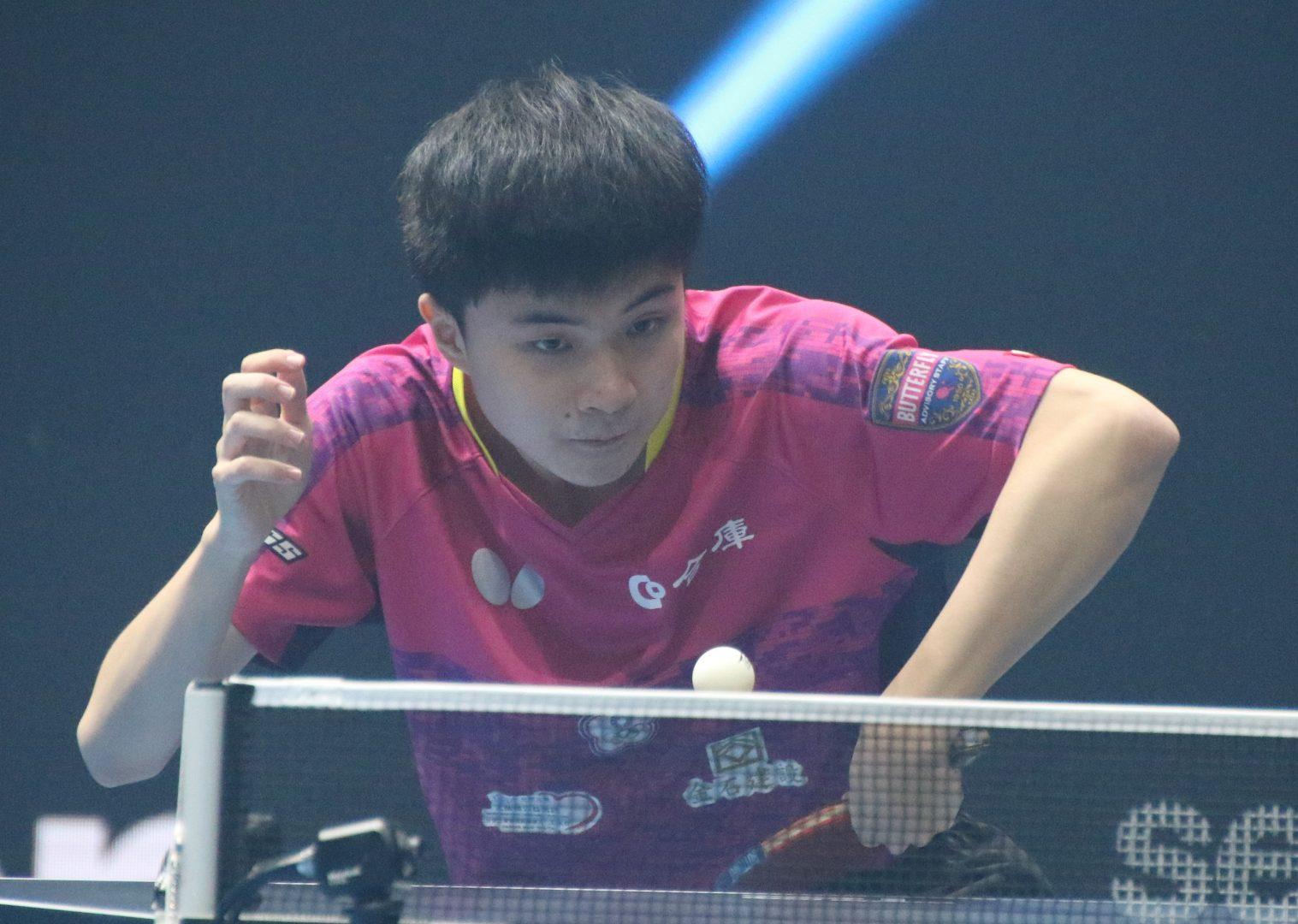 18歳・林昀儒、ベスト8進出 前回王者の意地見せる<卓球・T2ダイヤモンド>