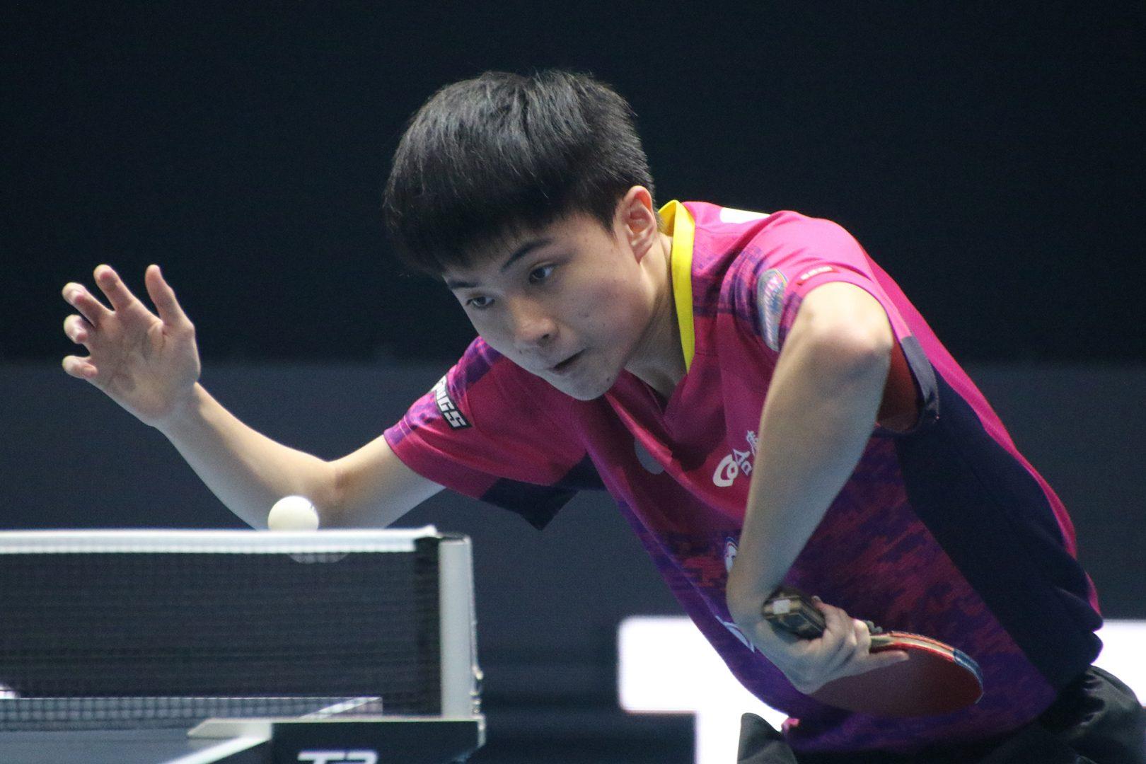 台湾の18歳・林昀儒、連覇へ向け2連勝<卓球・T2ダイヤモンド>