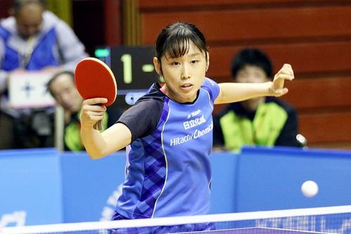 女子は中国電力と日立化成が全勝キープ 男子は3チームが1敗で並ぶ<後期日本卓球リーグ 3日目>