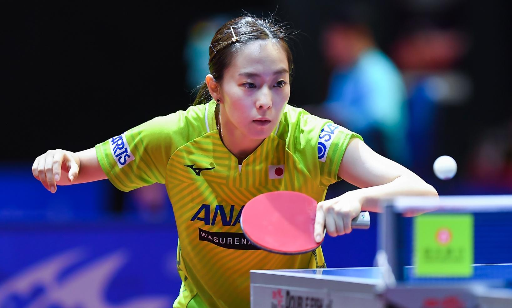 石川佳純、中国選手に惜敗 3度目の正直ならず<卓球・オーストリアオープン>