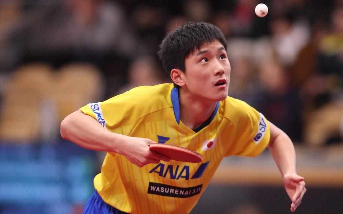 張本智和、ドイツのカットマン下す 次戦はチームW杯の再戦に<卓球・オーストリアオープン 男子単>