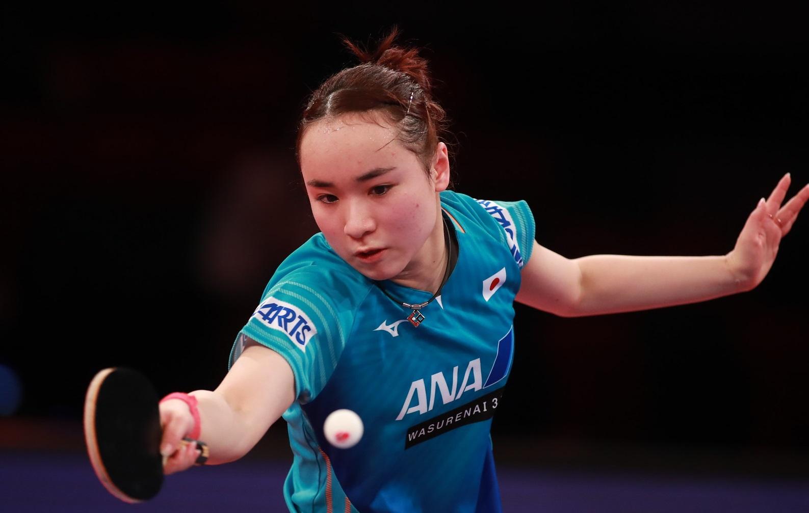 伊藤美誠、日本人対決に勝利 準々決勝へ<卓球・オーストリアオープン>
