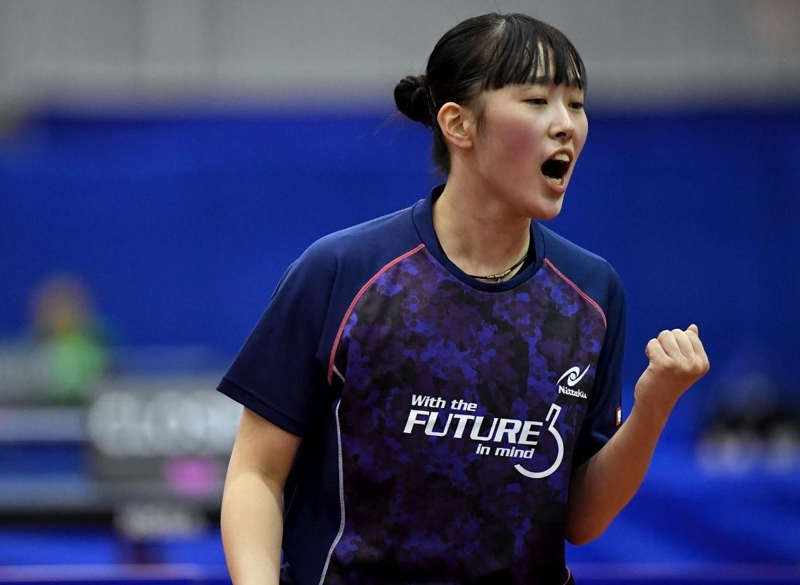 赤江夏星、2冠達成 第1シード下す<卓球・ワールドカデットチャレンジ>