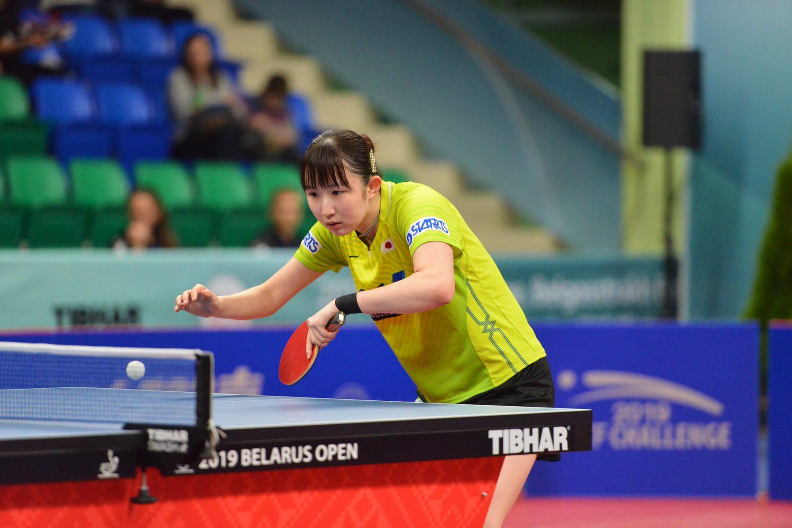 早田ひな 黄金世代対決を制し、韓国のカットマンと8強かけて対戦<卓球・オーストリアオープン 4日目見どころ>