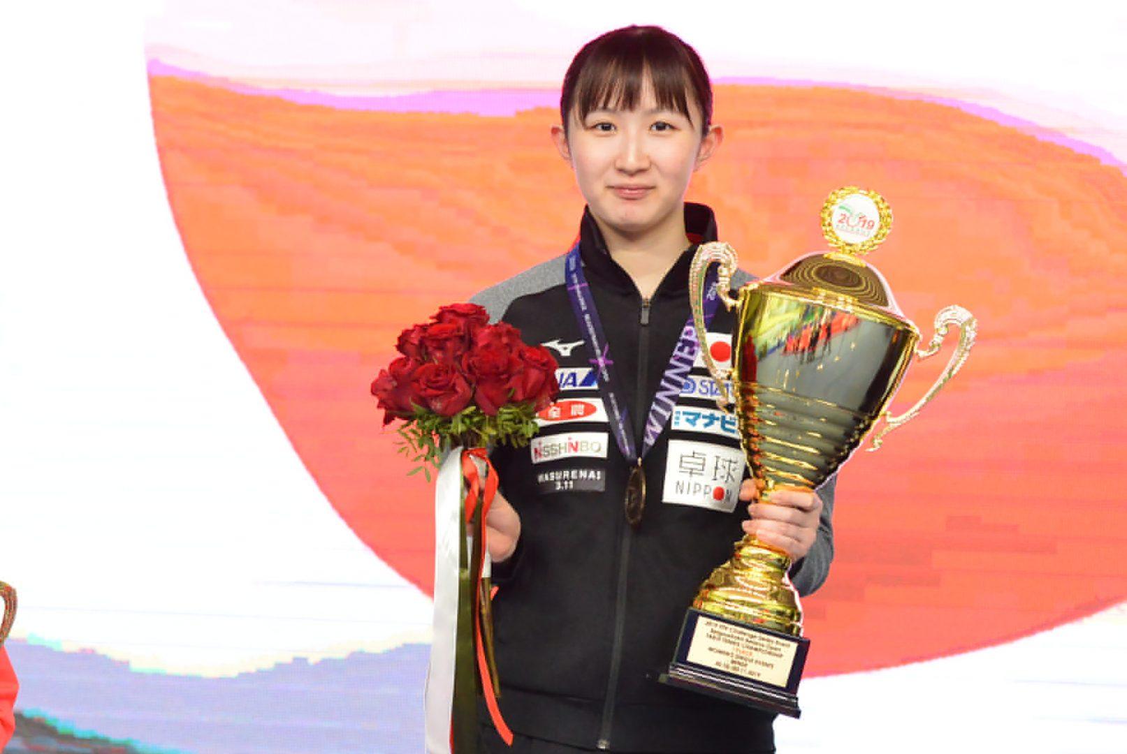 【今週の日本の卓球】早田ら日本勢が2種目で優勝 ベラルーシOP全日程終了