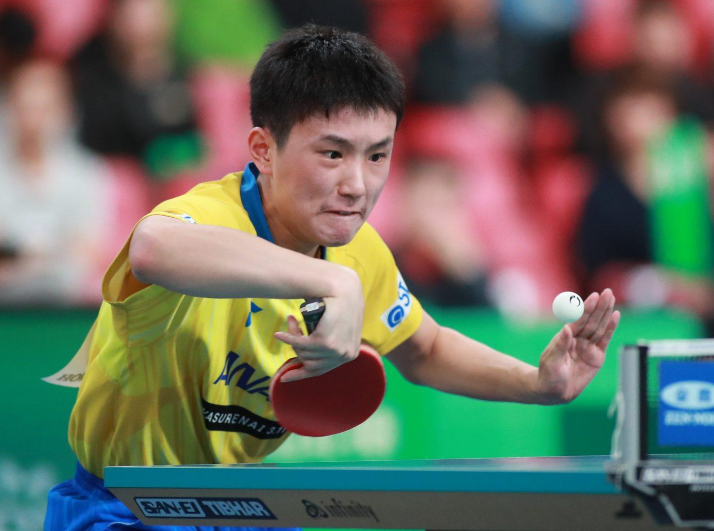 張本智和、今シーズンツアー2勝目なるか<卓球・オーストリアオープン シングルス見どころ>